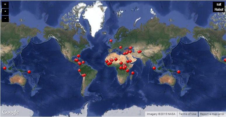 map Unesco
