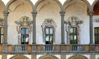 Dentro Palazzo Visconti a Brignano Meraviglia che pochi conoscono
