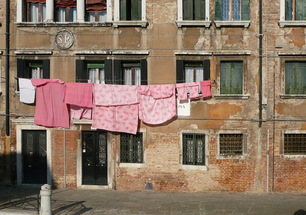 Bucato a Venezia