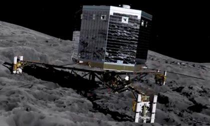 E Philae tornò a farsi sentire Ci dirà cosa c'è sotto una cometa