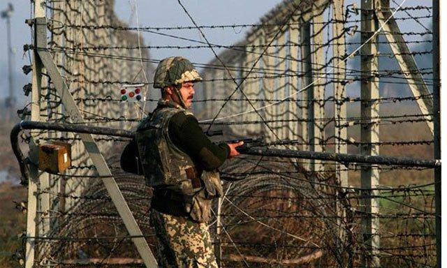 Pakistan-Kashmir-Border