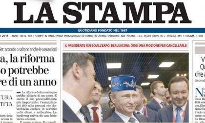 Le prime pagine dei giornali giovedì 11 giugno 2015