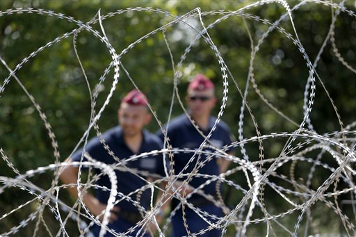 Hungary Anti-Migrant Fence