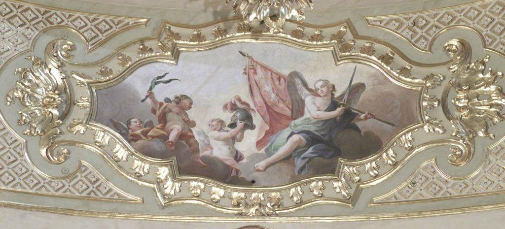 Ferrario F. (1766), Angeli con simboli del martirio