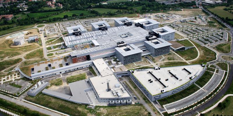 papa Giovanni XXIII Bergamo ospedale