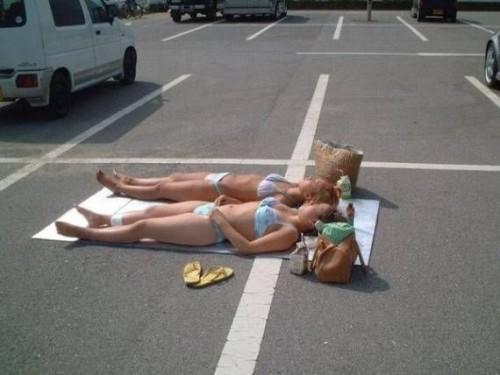 parcheggiosolevacanzeabbronzatura