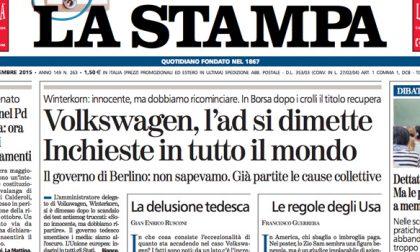 Le prime pagine dei giornali giovedì 24 settembre 2015