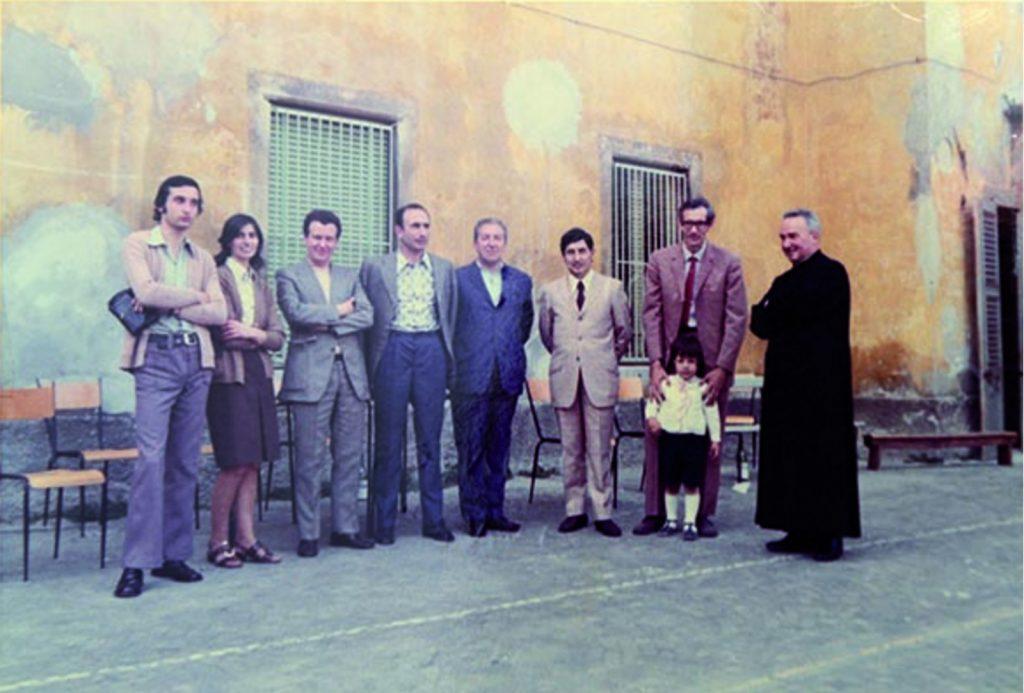 18 giugno 1972 1a classificata interregionale - dirigenti, sindaco franco bertacchi prevosto don antonio milesi