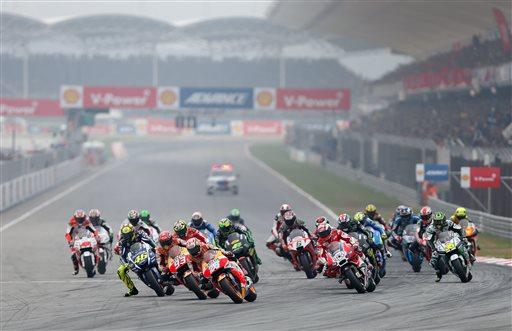 Malaysia MotoGP Motorcycle Racing