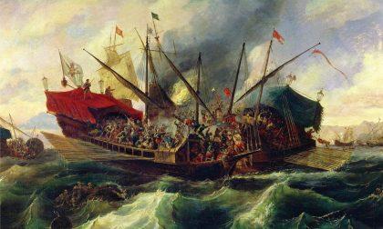 La gloriosa battaglia di Lepanto (Com'è bello dire: «Abbiamo vinto!»)