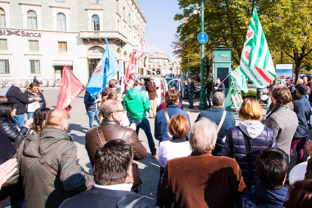 Manifestazione lavoratori Italcementi-46