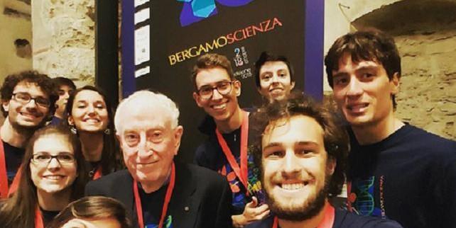 selfie bergamoscienza 2015