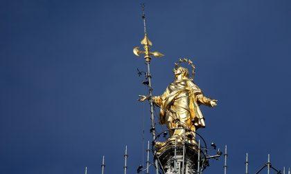 La Madonnina sul tetto di Allianz Tranquilli, è una cosa bella