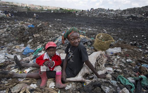 Kenya Pope Pollution