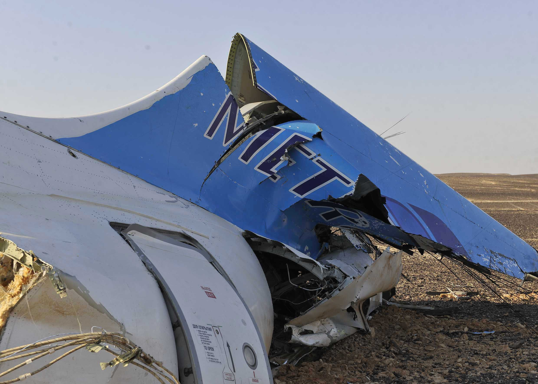 CORRECTION Mideast Egypt Russian Plane Crash