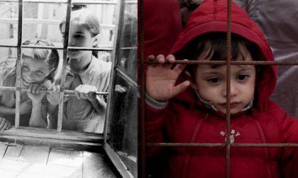 Bambini profughi di ieri e di oggi Una raccolta di foto silenziose
