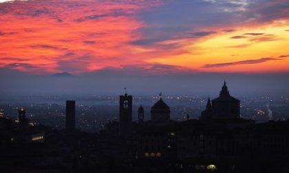 Bergamo all'alba - Demis Milesi