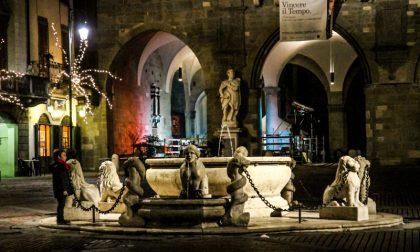La Rigoni di Asiago finanzierà il restauro della fontana del Contarini, in Piazza Vecchia