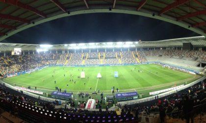 Cartolina dallo stadio di Udine Diventerà così pure il Comunale?