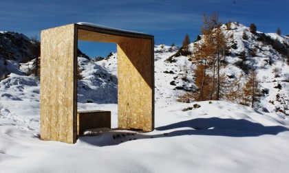 L'arte sui sentieri di montagna Le 7 opere in mostra al Polaresco