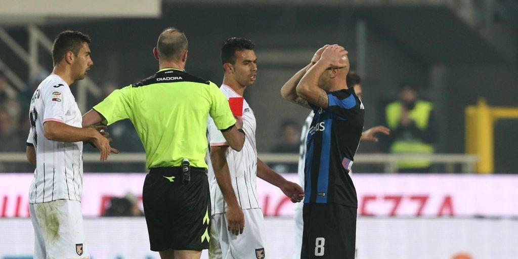 Soccer: Serie A; Atalanta-Palermo