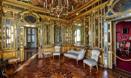 Oltre il cancello di Palazzo Terzi Storia e fotografie di una meraviglia