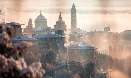 La neve su Bergamo in 15 foto Per non finire l'anno senza