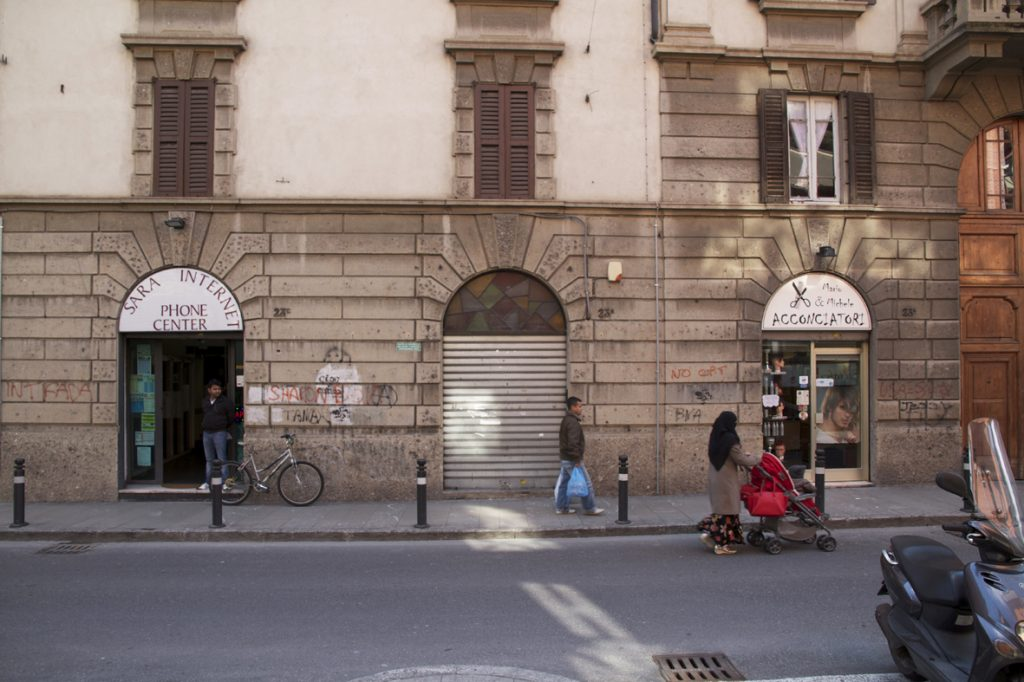 Via-Giacomo-Quarenghi-la-strada-dove-si-trova-The-Blank-Residency