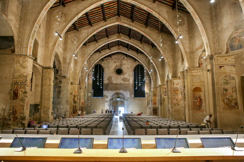 Aula Magna in Sant'Agostino - D. Rotasperti