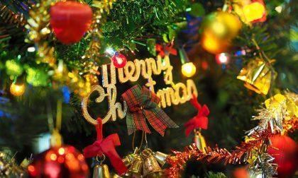 10 alberi di Natale nelle case dei vip