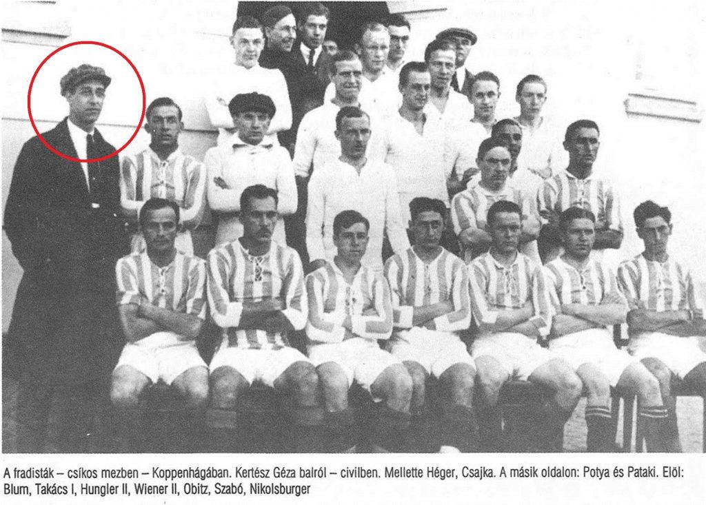 2. Kertész e il Ferencváros
