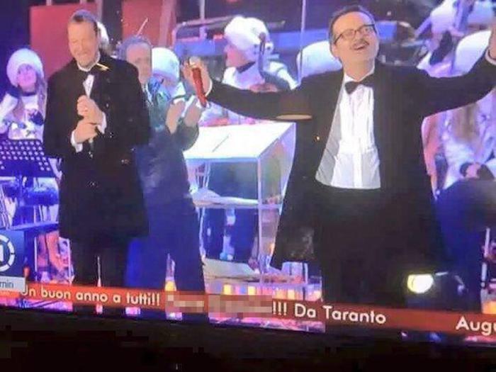 TV: COUNTDOWN IN ANTICIPO E BESTEMMIA PER CAPODANNO RAI1