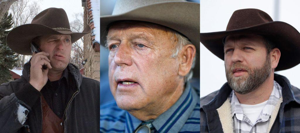 Ryan Bundy, Cliven Bundy, Ammon Bundy