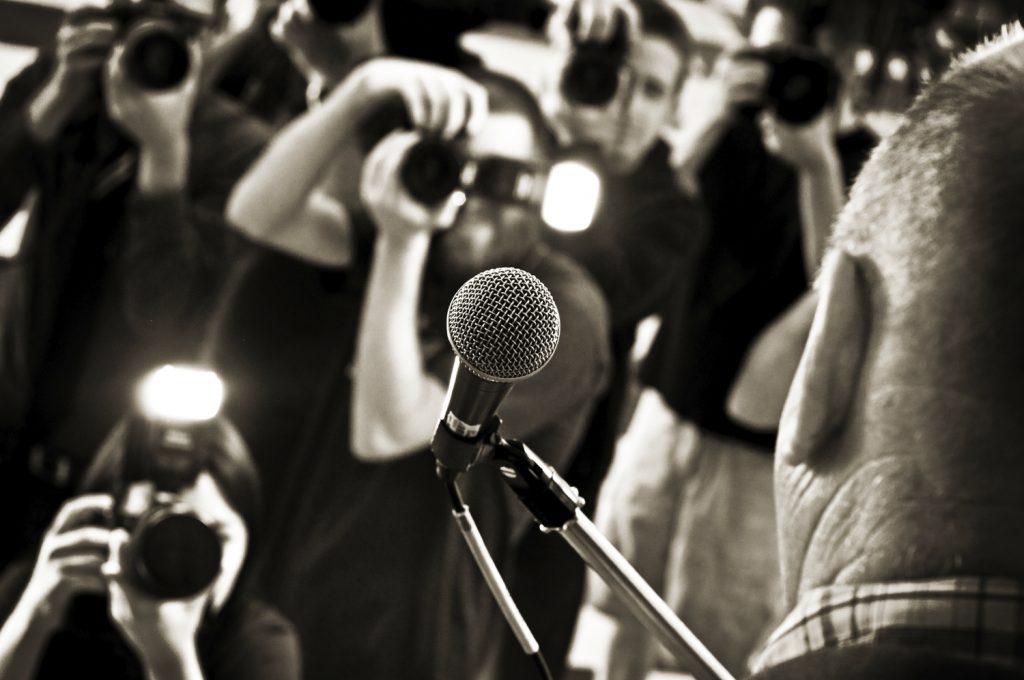 PUBLIC+RELATIONS+PHOTO+--+Media+microphone