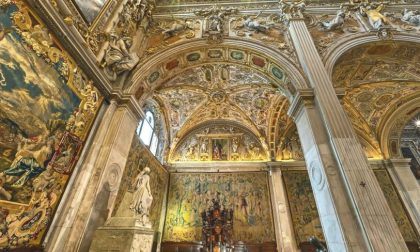 I 5 arazzi di Santa Maria Maggiore che raccontano l'infanzia di Gesù