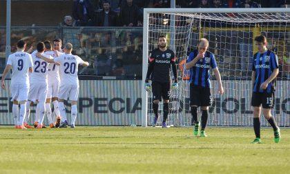 Coi Viola arrivano i gol e reazione Ma l'Atalanta cade un'altra volta