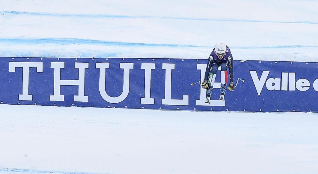 Women's Alpine ski downhill in La Thuile