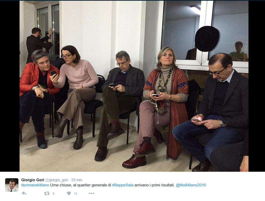 Milano:boato gioia a comitato Sala a dati seggio 'comunista'