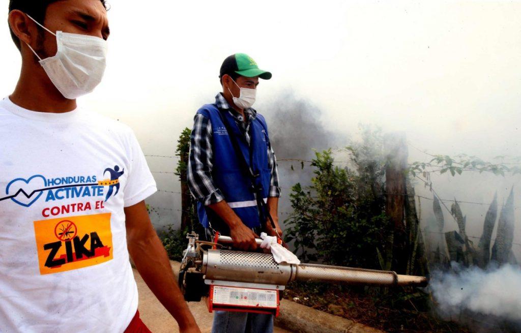 Labors prevent possible spreading of Zika viurs
