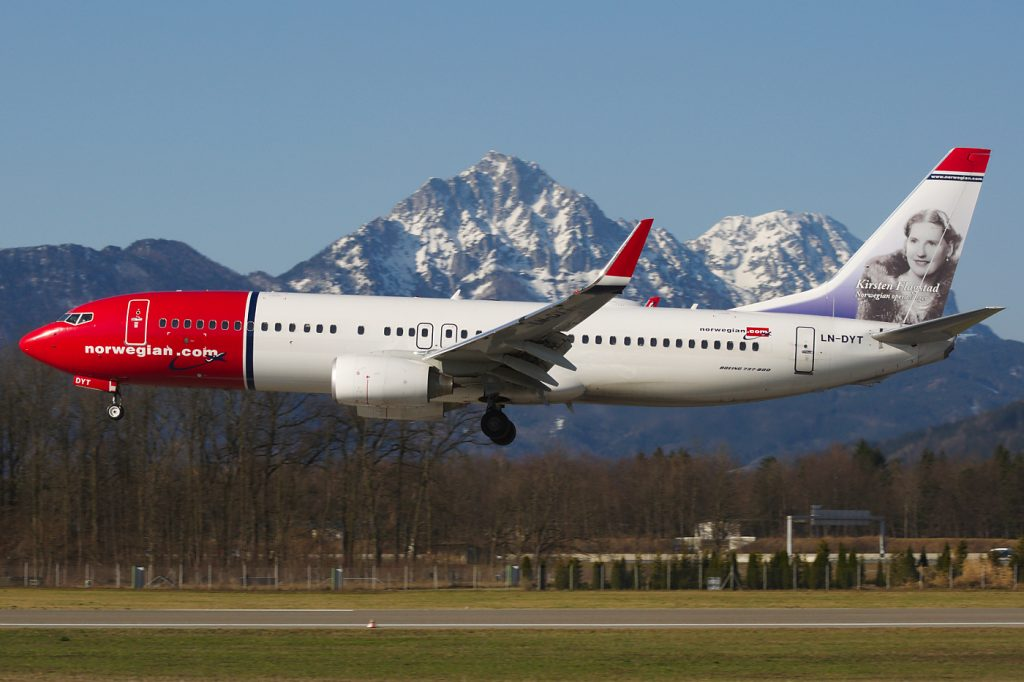 10) Norwegian Air Shuttle