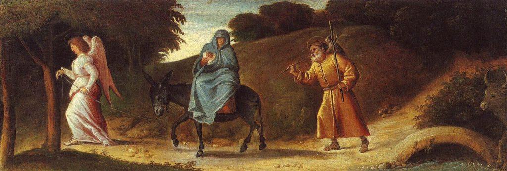 2 - Cariani, Fuga in Egitto