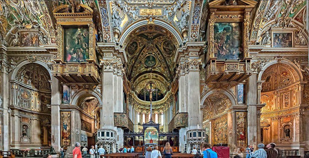 Interno Basilica Santa Maria Maggiore