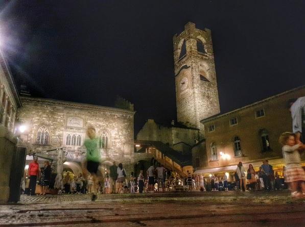 Piazza Vecchia - Francesco Bonometti