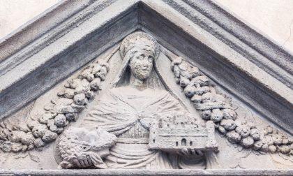 Le opere dedicate a Santa Grata che si trovano in giro per la città