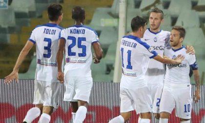 Bel tempo (il primo) a Pescara La Dea finalmente vince 3-1