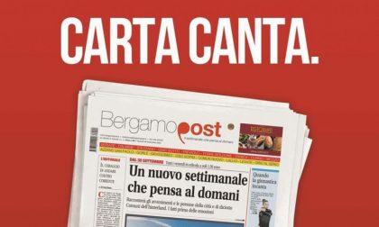 Bergamopost arriva in edicola Dal 30 settembre, tutti i venerdì