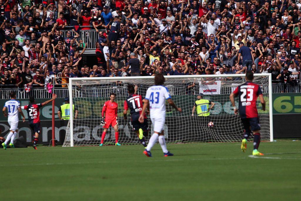 Soccer: serie A; Cagliari-Atalanta