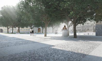 Due piazze rinnovate per Bergamo Ecco i rendering di come saranno