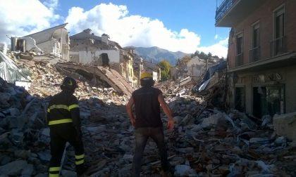 Il Bocia tra le rovine di Amatrice e quell'incontro sfiorato col Papa