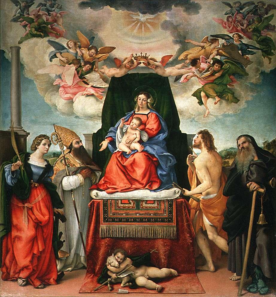 lotto-l-1521-madonna-con-gesu-bambino-e-santi-chiesa-di-santo-spirito